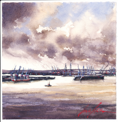 613_habour view_19x19cm_2019